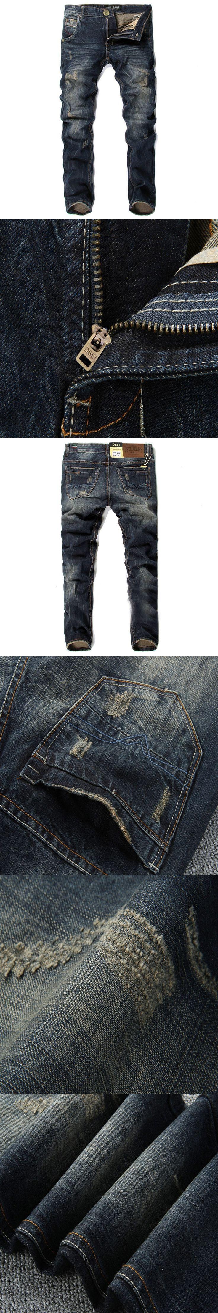 Mens Jeans Homme Brand Jean Arrival Design Slim Fit Fashion Jeans denim Pants Overalls Men Good Quality Black Skinny Pant Men