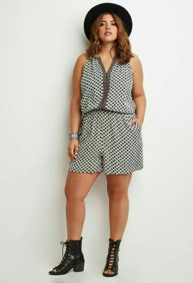 Plus size rompers www.maycloth.com
