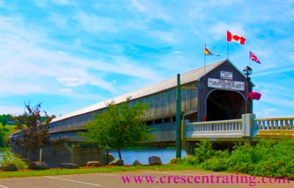 Longest Covered Bridge In the world, Hartland, New Brunswick