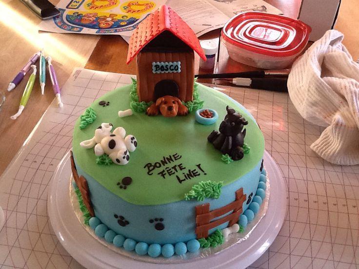 14 Best My Fondant Cake Images On Cakes Dog Bakery Raleigh Nc Birthday