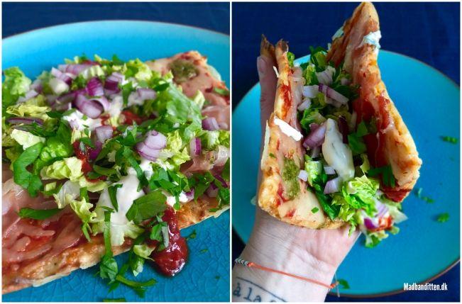 Snasket pizzasandwich - low carb, LCHF og glutenfri --> madbanditten.dk