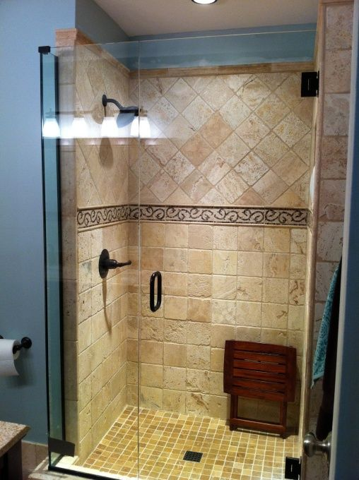 145 best tile designs bathrooms images on pinterest for Very small bathroom renovations