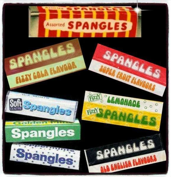 Spangles!  I liked the black and white pack best.