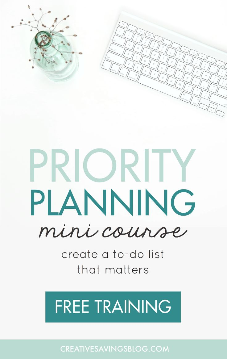 Are you ready to master your schedule and focus on what's truly important? This mini course helps you break free from a to-do list that overwhelms, so you can accomplish ALL of your top priorities.
