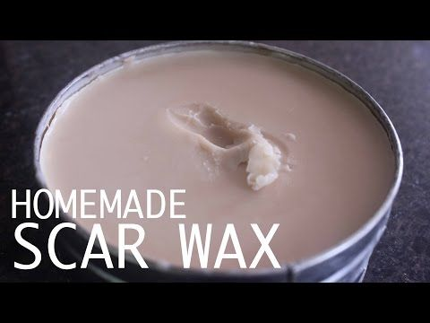 Homemade Scar Wax w/ Bee Wax and Vaseline | FX Product - YouTube