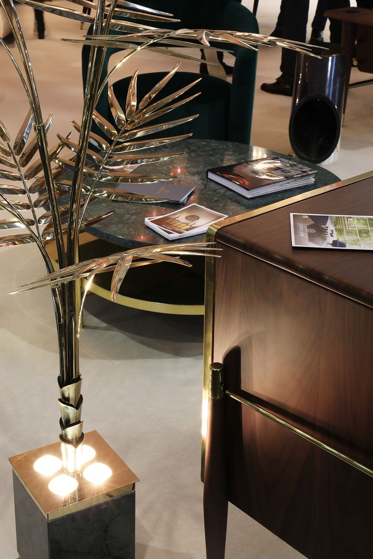 Retro madness is sweeping Maison et Objet 2017 Paris. Ivete Lamp is the perfect example of amazing midcentury modern design, with a bohemian palmtree shape, a true trend M&O. Hall 7| Stand E40