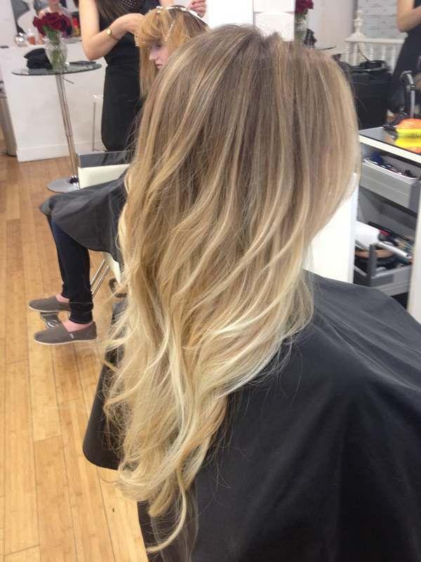 bronz ten için sarı bej saç