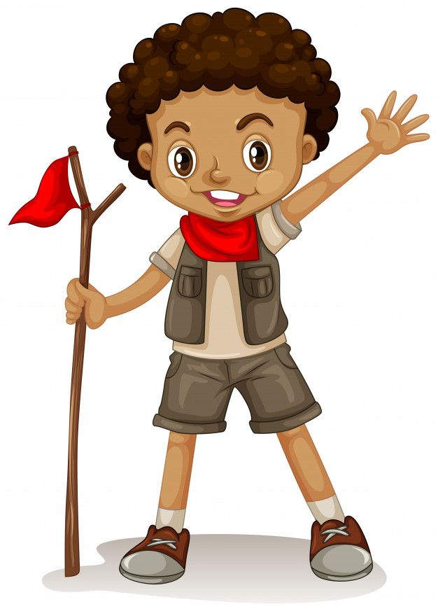 Download A Young Boy Scout For Free Scout Boy Scouts Teacher Cartoon