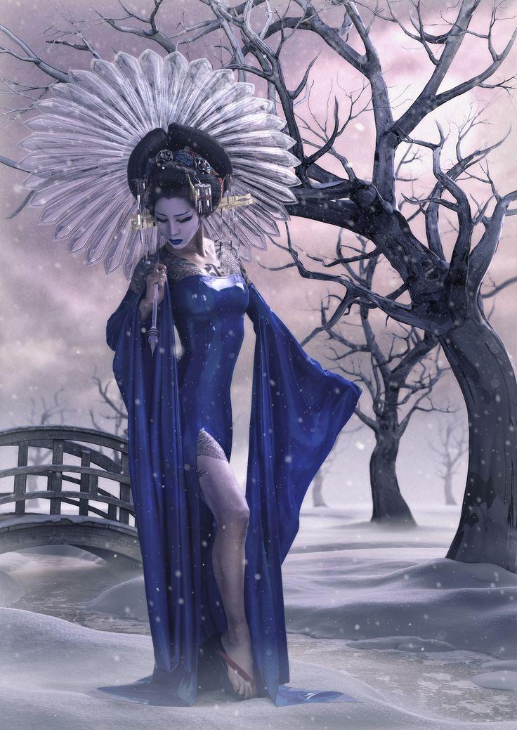 Photographer: Jason Arber Concept/Retoucher: Nange Magro Designer: Dead Lotus Couture Hair: Hiro Hirata CG: MPM7 Model: Yusura