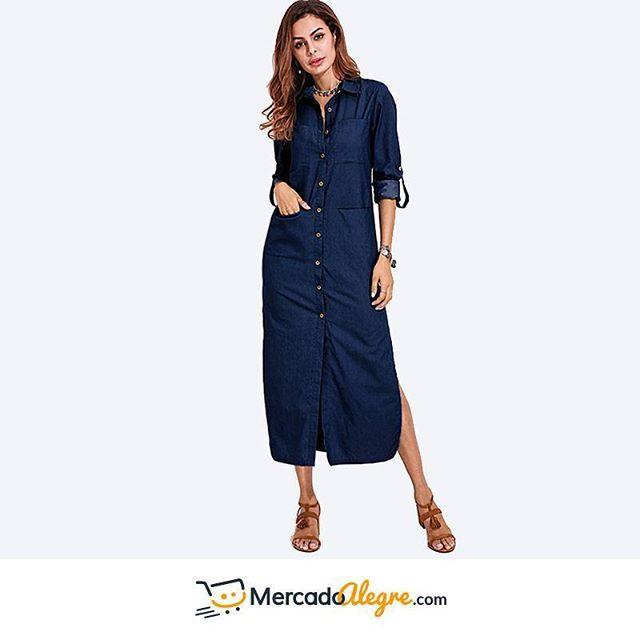 El look de jean total fue muy usado a finales de los 90, y actualmente es la manera más rápida y segura de lucir hermosa y cómoda.  Es muy sencillo de combinar y de añadirle complementos.  Arriésgate y deja que te miren.  .  .  .  .  .  .  .  #Colombia #Compras #Medellin #Mercado #Bogota #Cali #followforfollow #Moda #Ropa #Ventas #Mercado #Alegre #Pereira #SantaMarta #Barranquilla #vistealamoda #free #Happy #cartagena