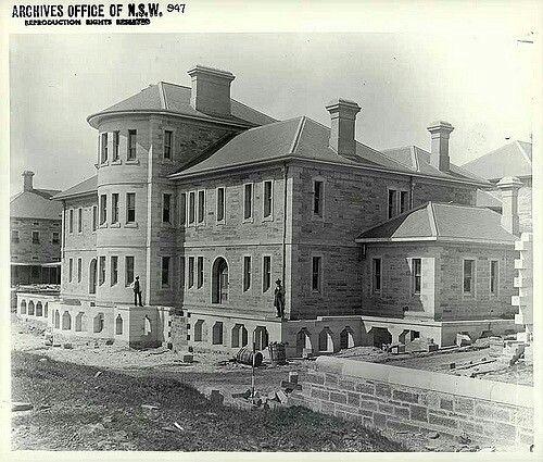 Callan Park Hospital in Rozelle in inner Sydney in 1883.