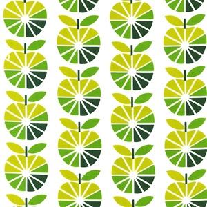Apple Slices Green - To Market To Market @ Sew, Mama, Sew!Prints Pattern, Kitchens Curtains, Prints Fabrics, Apples Green, Robert Kaufman, Fabulous Fabrics, Curtains Fabrics, Scandinavian Style, Marketing Apples