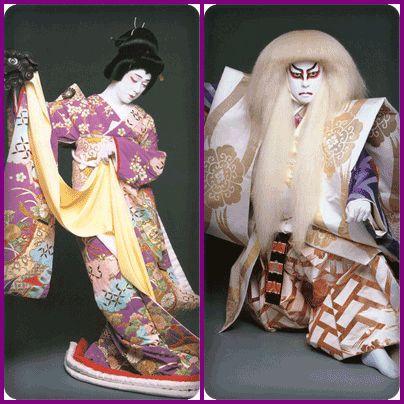 Japanese Kabuki | Bando-Tamasaburo-of-typical-kabuki-actor-in-Japan-2-thumb-404x404