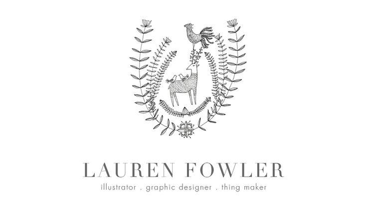 Lauren Fowler Design - Illustration - Graphic Design - Thing Maker