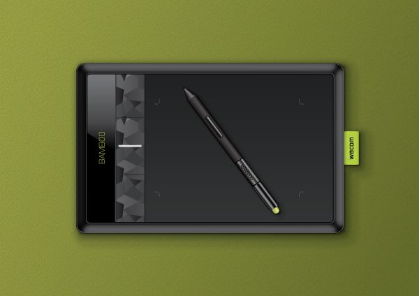 PART I - In this tutorial you will learn how to create a realistic Wacom Bamboo Tablet in Adobe Illustrator. You will find out how to add shadows and highlights to your Wacom Tablet using different Blending Modes, how to use the Round Any Corner Script and finally, how to create a nice textured background.