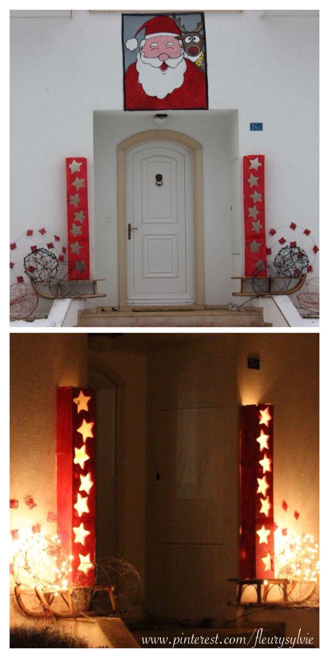 D co de no l de jour et de nuit noel decoration exterieur http pint - Pinterest deco exterieur ...