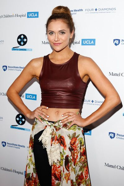 Alyson Stoner Photos Photos - Singer/dancer Alyson Stoner arrives at the Lights Camera Cure's 5th Annual Hollywood Dance Marathon Benefiting Mattel Children's Hospital UCLA and The Four Diamonds Fund at Avalon on April 2, 2016 in Hollywood, California. - Lights Camera Cure's 5th Annual Hollywood Dance Marathon Benefiting Mattel Children's Hospital UCLA And The Four Diamonds Fund