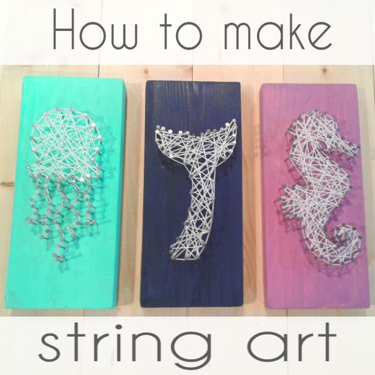 99 best diy beach decor images on pinterest angels art decor and adorable beach themed string art decor perfect for my daughters mermaid room diy string solutioingenieria Gallery