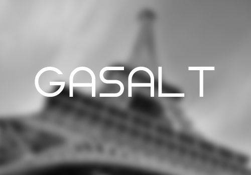 Gasalt Font