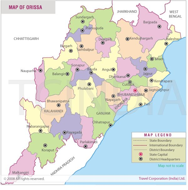 16 best Map of Odisha images on Pinterest  Tourism City guides