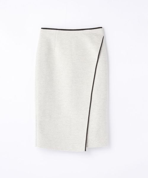 コットンツイード ラップタイトスカート(ミニ・ひざ丈スカート) | TOMORROWLAND/トゥモローランド のファッション通販サイト - セレクトスクエア