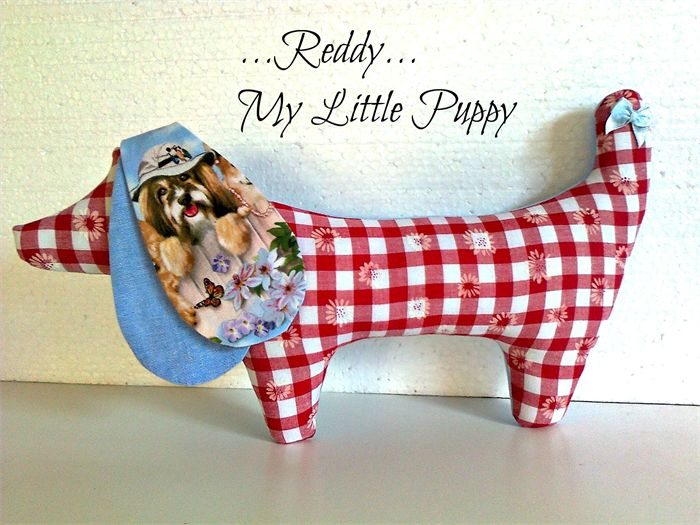 """ REDDY "" ... My Little Puppy"