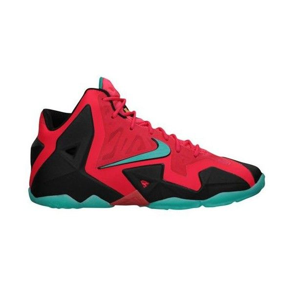 Nike LeBron XI Boys\u0027 Grade School ($140) ? liked on Polyvore featuring nike