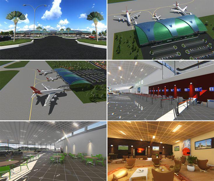 Extension et rénovation de l'aéroport international d'Ivato by Hôtel*** RESTAURANT gourmand COCO LODGE MAJUNGA