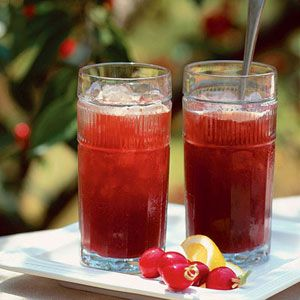 Cherry Cola Cocktail - Our alcohol-spiked spiced Cherry Cola recipe provides a delicious grown-up fruity drink.