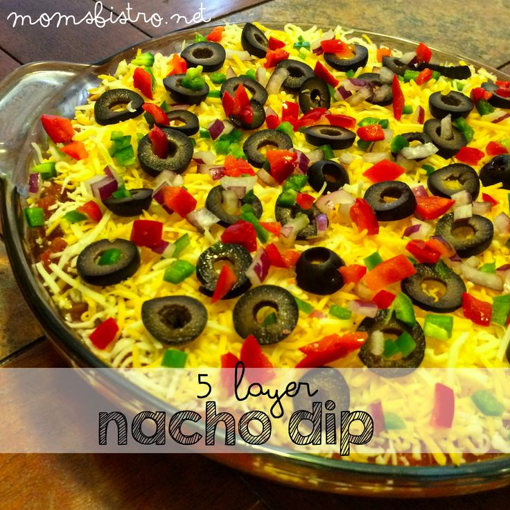 This is my variation on my Mom's layered nacho dip.  As a kid, it was always a favorite of mine at my Mom and Dad's parties and still to this day, I ask Mom to make it for me when …