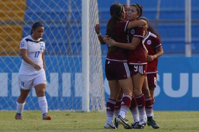 La Selección Mexicana femenil suub 20 venció a su similar de Honduras con un 2-0 este domingo, para clasificarse a la Copa Mundial de la FIFA Nueva Guinea 2016. (miseleccion.mx)