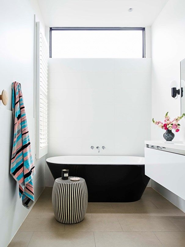 With their architectural good looks, there's no denying freestanding baths are style-making statement pieces | Home Beautiful Magazine Australia