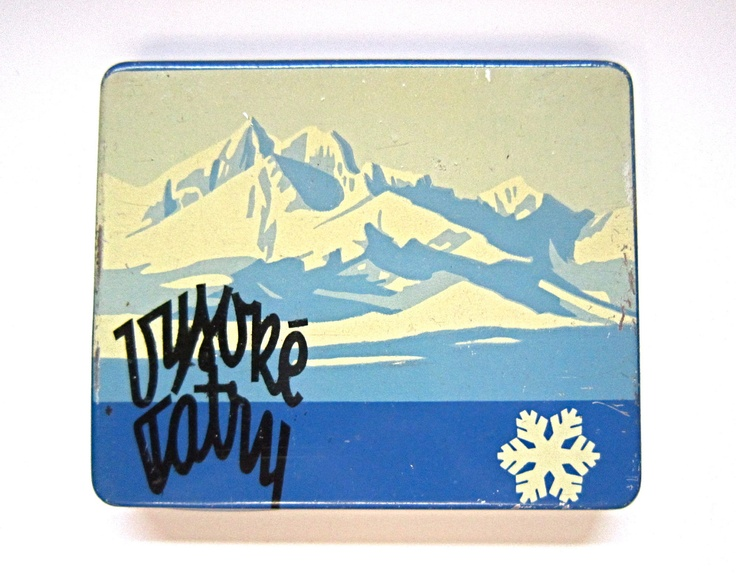 vintage czechoslovakian cigarette tin box - should have one somewhere :-)