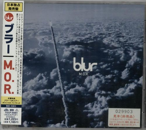 "For Sale - Blur M.O.R. Japan Promo  CD single (CD5 / 5"") - See this and 250,000 other rare & vintage vinyl records, singles, LPs & CDs at http://991.com"