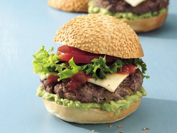 Hamburgers aux piments chili verts