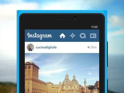 Instagram Header design