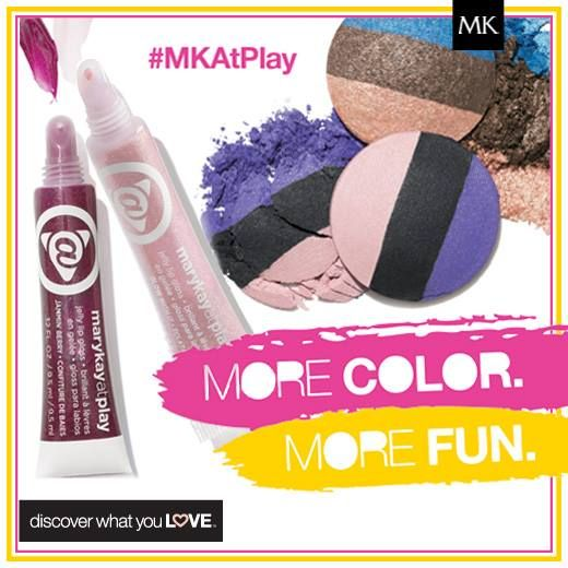 NEW!! Mary Kay At Play Collection: Available May 16!! Shop/Contact me: www.marykay.com/LaShon