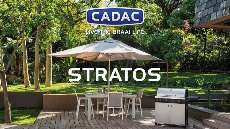 STRATOS - The Stratos range is a compact stylish, excellent value-for money range of Gas Patio BBQs designed by CADAC for flair and performance.