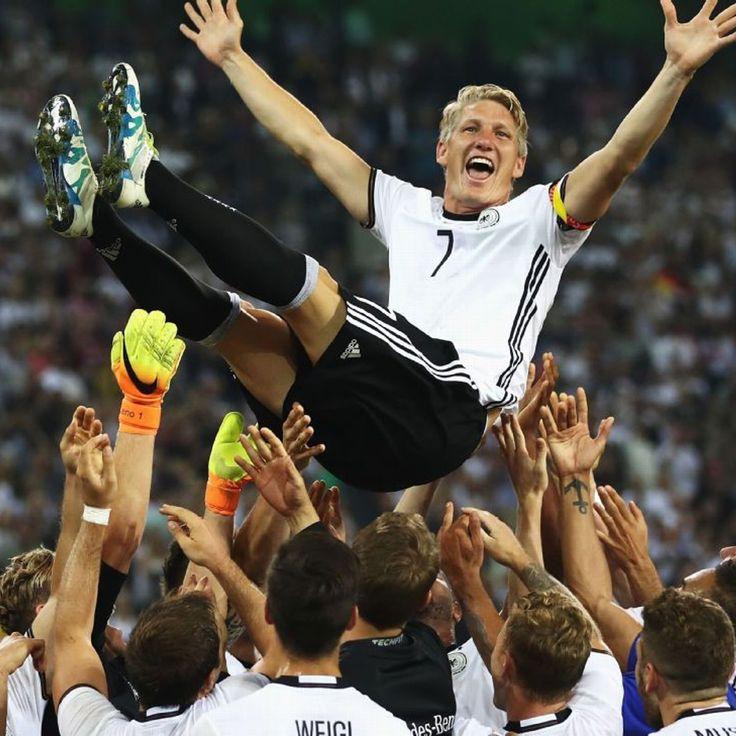 Germany bid farewell to Bastian Schweinsteiger, a national team icon