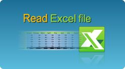 Read Excel file in C# and VB.NET. Read entire sheet data or only data from a range of cells.  #CSharp #VBNET #Excel