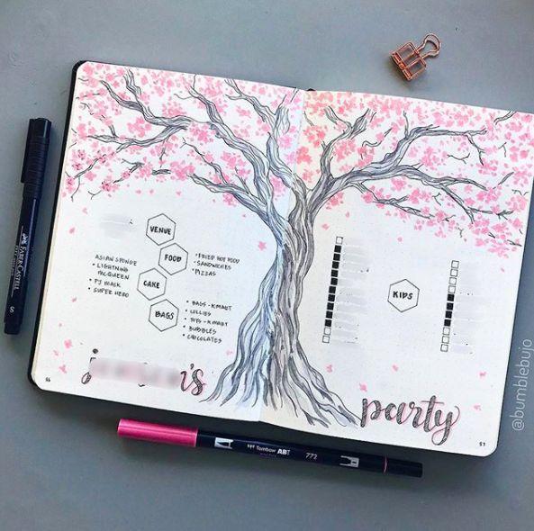 Pink Bullet Journal breitet sich aus, um Sie zu inspirieren  #breitet #bullet #inspirieren #journal