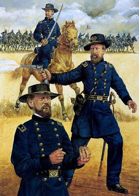 • Major-General Edward Ord • Major-General James McPherson • Major-General Jefferson C. Davis