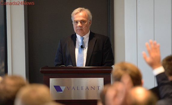 Valeant Pharmaceuticals shareholders vent frustrations at embattled drugmaker's AGM