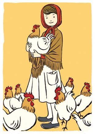 鶏と少女 NaOTO TAJIMA Illustration