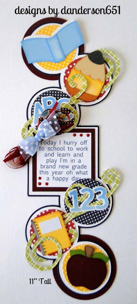danderson651 US $14.99 New in Crafts, Scrapbooking & Paper Crafts, Scrapbooking Pages (Pre-made) facebook - danderson651 paperdesignz.com