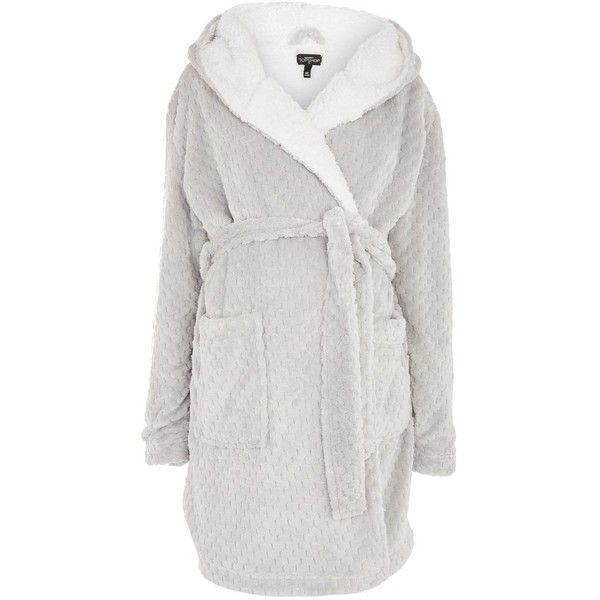Topshop Maternity Dressing Gown ($42) ❤ liked on Polyvore featuring maternity and grey