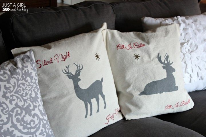 Want a custom pillow but can't sew? Use this easy-to-follow tutorial for no-sew pillow covers, decorated with Sharpies! Amazing!