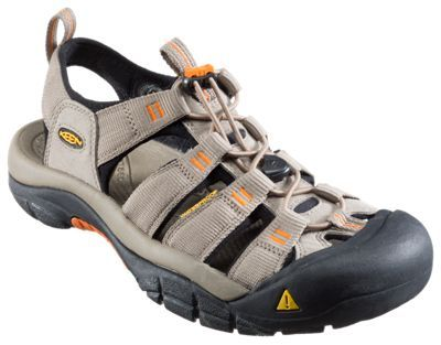 Keen Newport H2 Water Shoes for Men - Brindle/Sunset - 10.5M