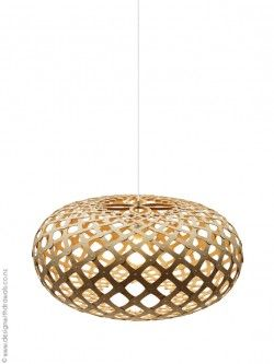 Kina Pendant Light – Natural – David Trubridge | Design Withdrawals