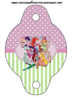 Winx Free Party Printables.
